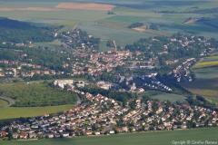 vue aérienne Beynes